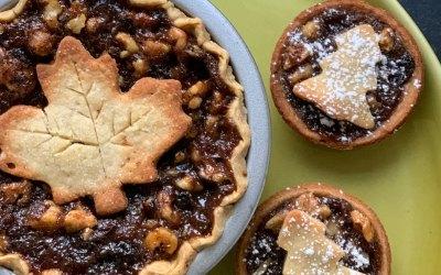 Maple Walnut Mince Pie