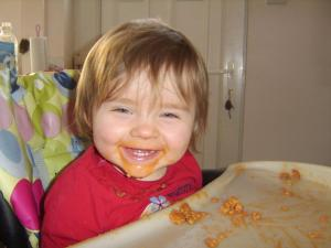 Weaning is a Messy Business-check out Boo