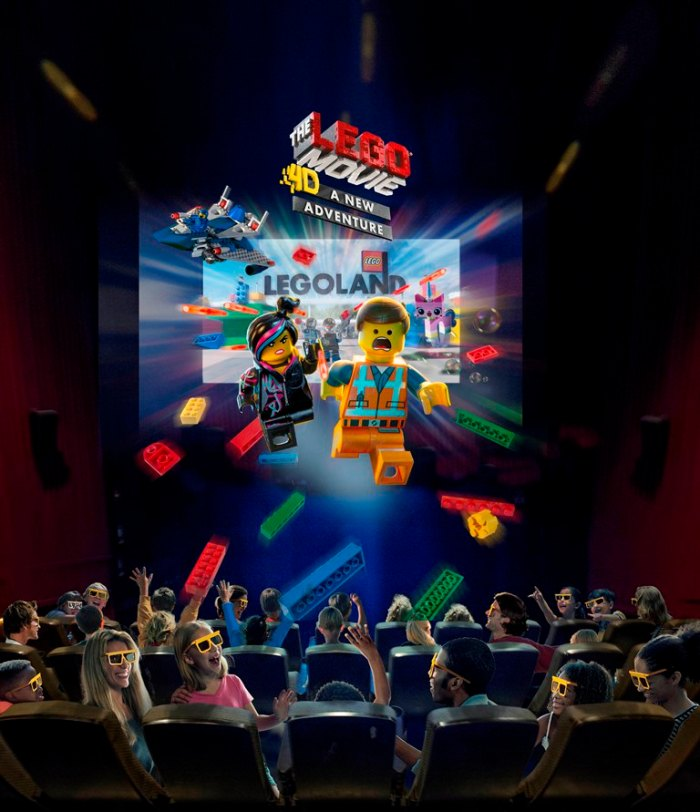 The LEGO Movie 4D A New Adventure