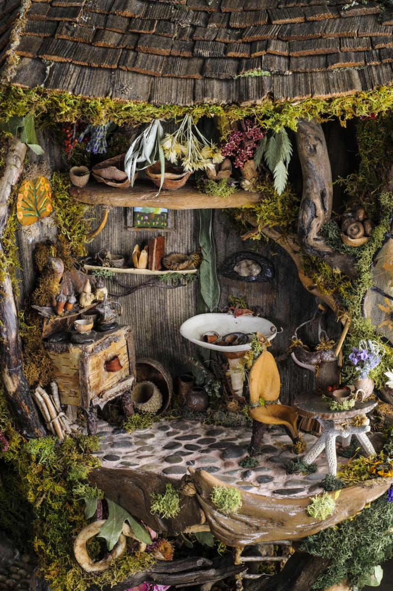 Fairy Garden Ideas: Weirdly Strange Fairy Garden Idea