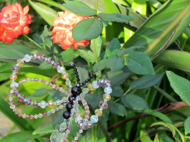 Crystal Butterfly Plant Stakes