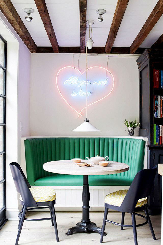 Diner Love Breakfast Nook Ideas