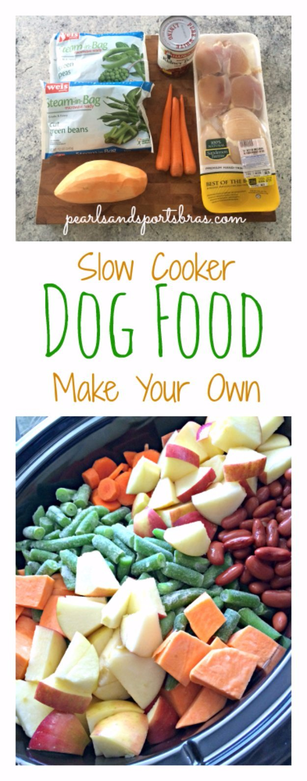 DIY Slow Cooker Dog Food