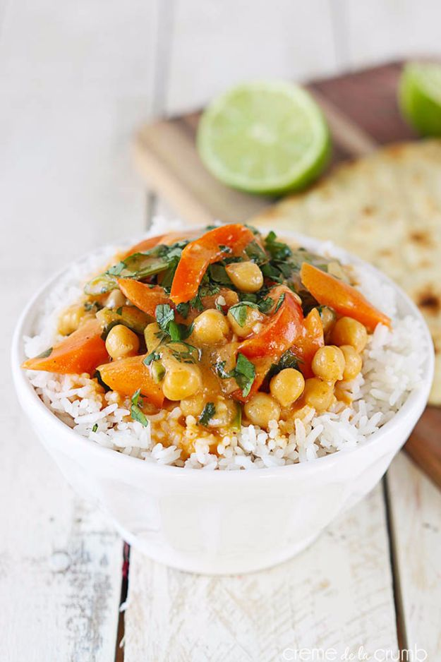20 Minute Chickpea Curry
