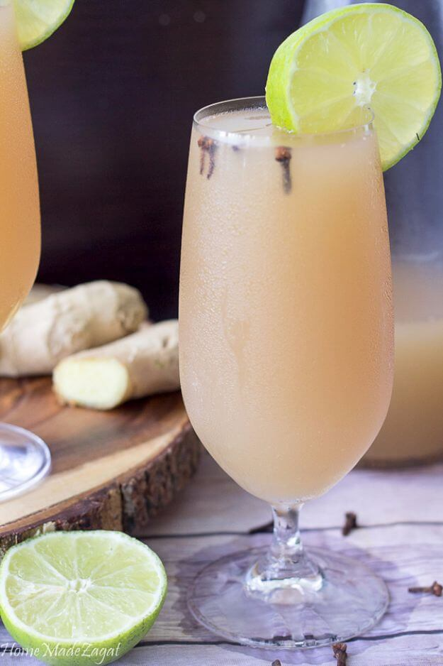 Homemade Carribean Ginger Beer