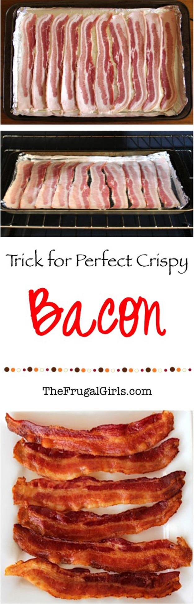 Make Perfect Crispy Bacon In The Oven