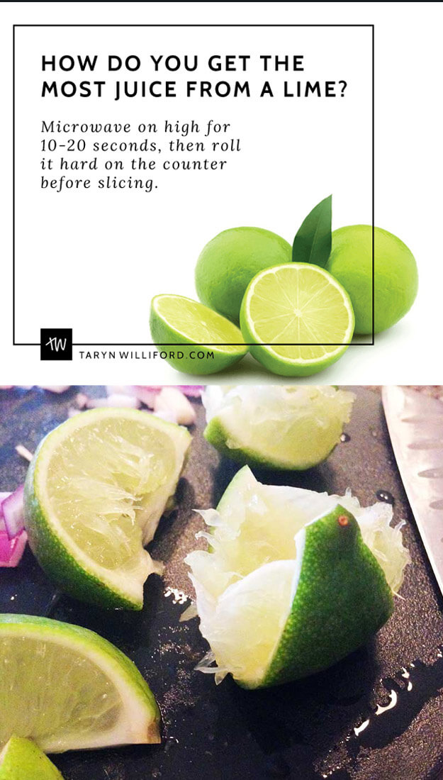 Microwave Lemons And Limes To Get Two Times The Juice
