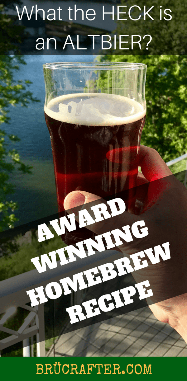 AWARD WINNING ALTBIER RECIPE – ALTERED BEAST