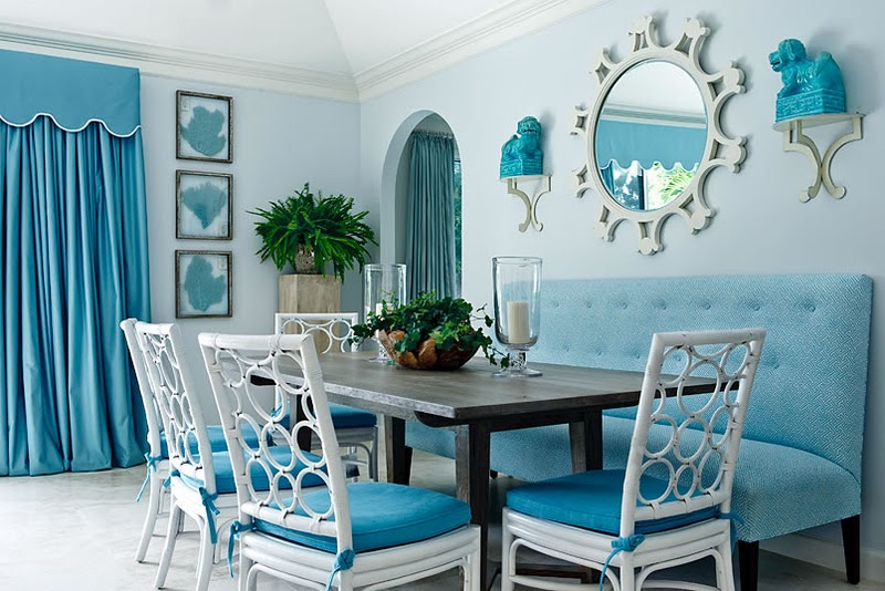 Floating in the Sea Breakfast Nook Idea