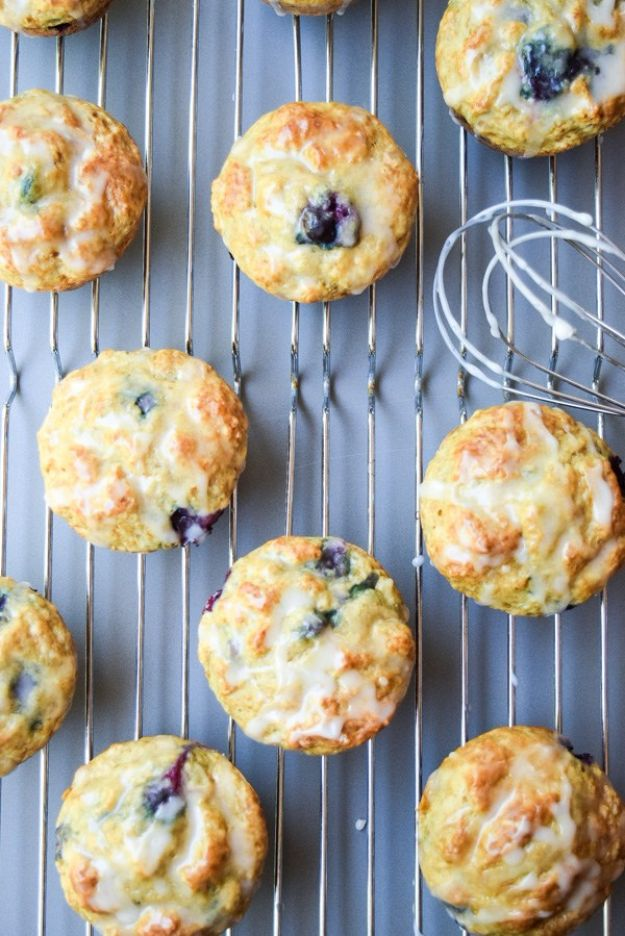Fat Free Blueberry Lemon Muffins