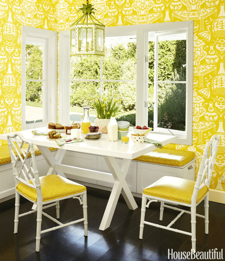 Making Lemonade Breakfast Nook Idea