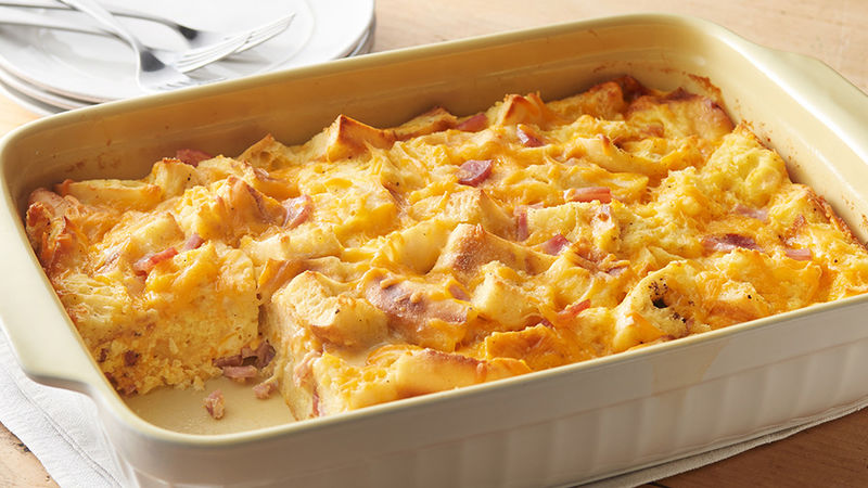 Overnight Egg Muffin Casserole