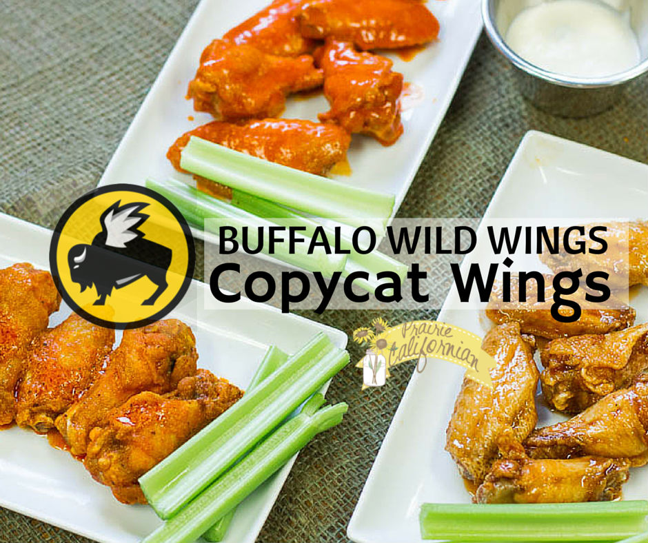 BUFFALO WILD WINGS COPYCAT WINGS
