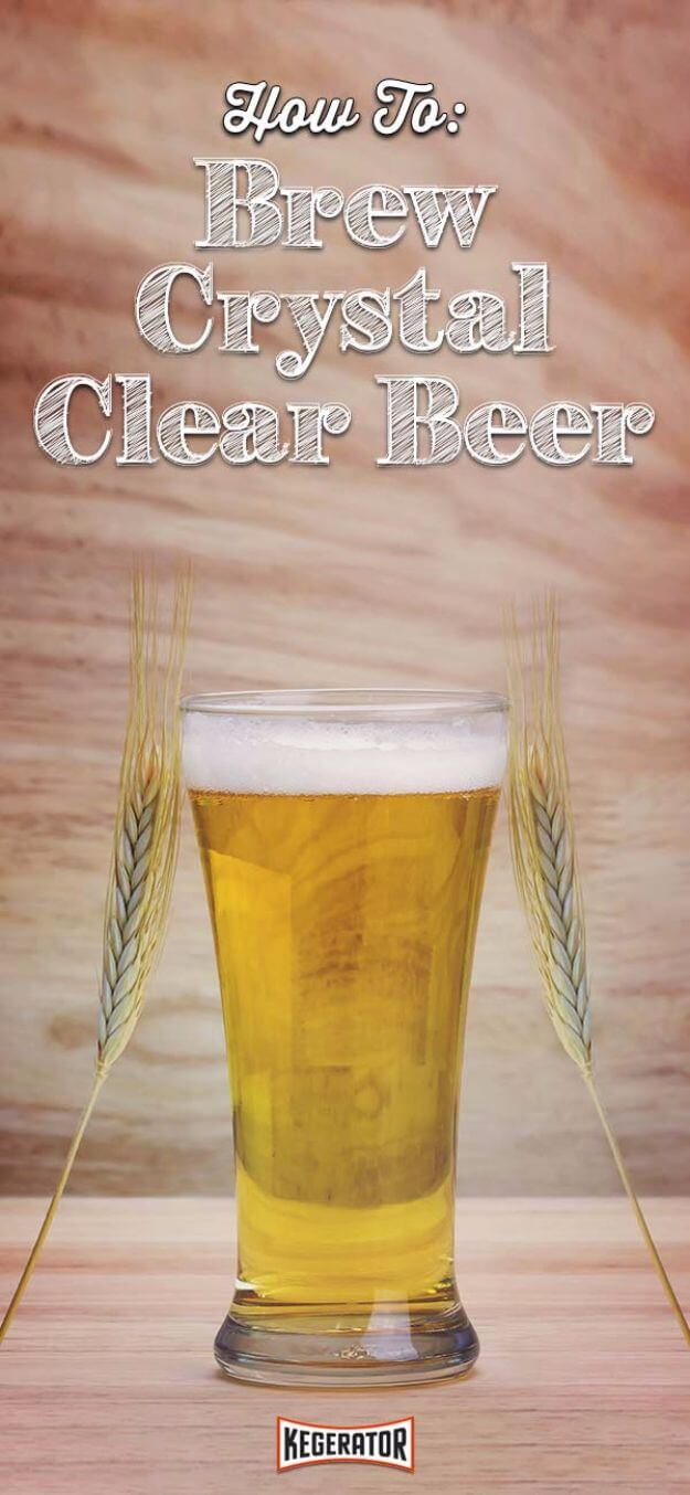 Homemade Crystal Clear Beer