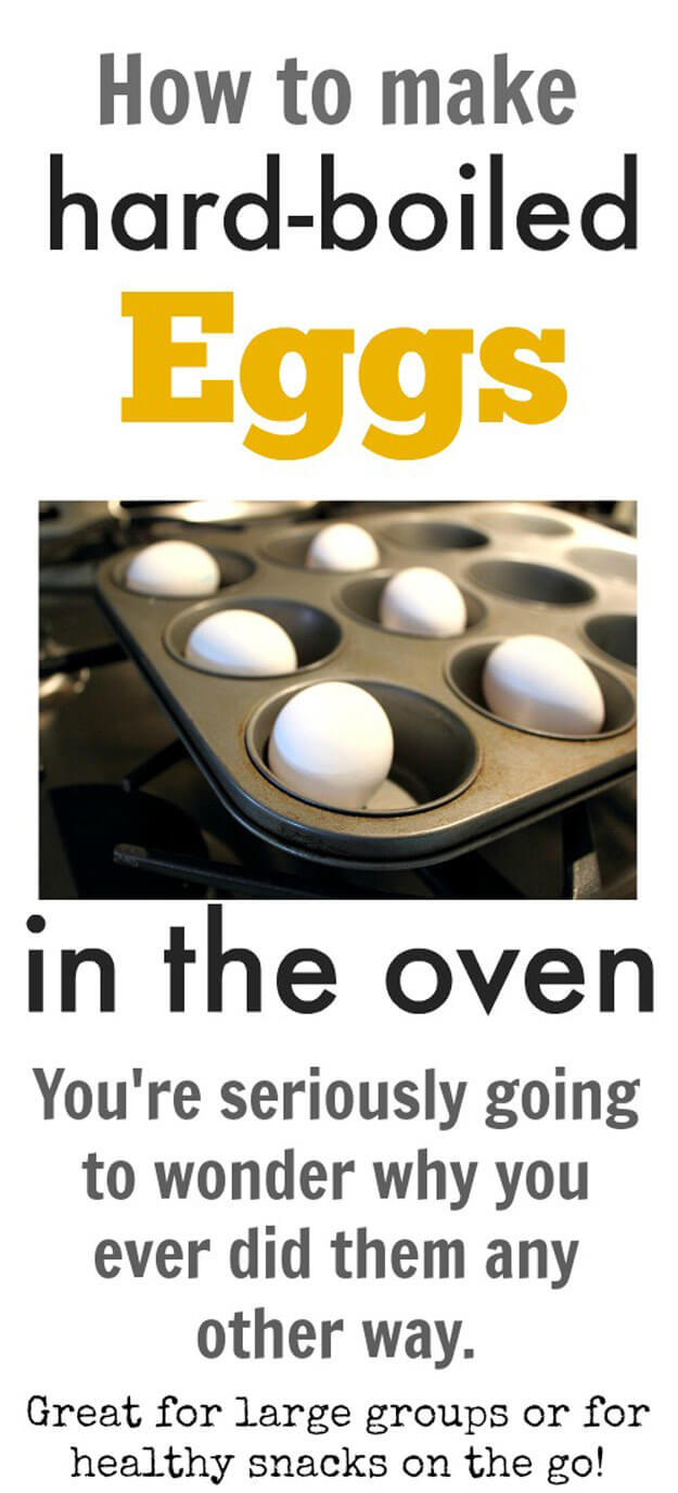 Make Hard Boiled Eggs In The Oven
