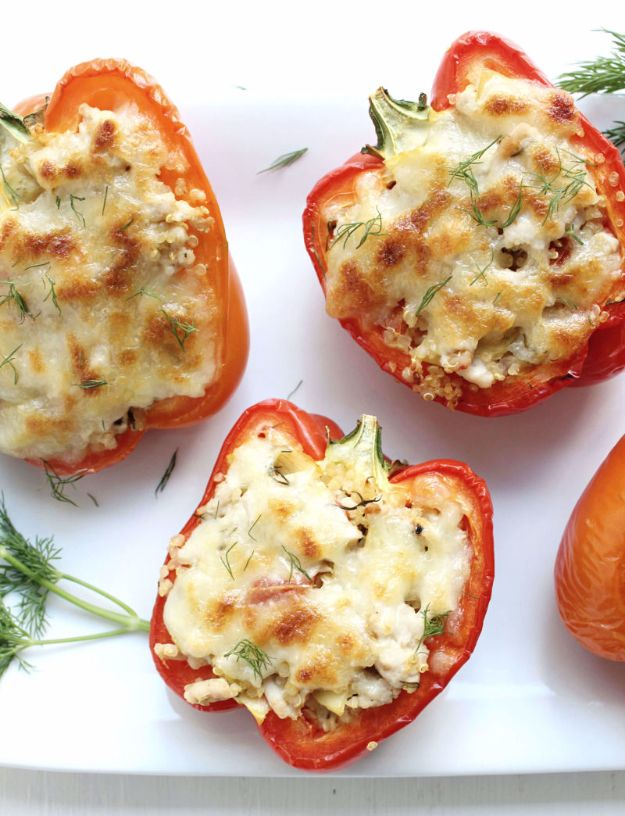 Greek Style Stuffed Peppers