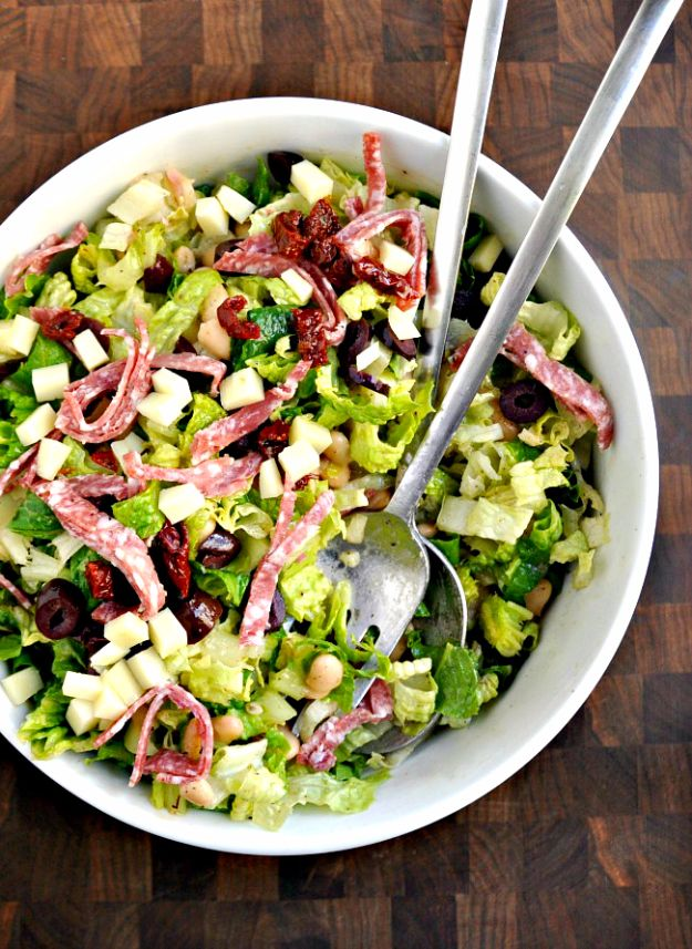 Italian Chopped Salad For Two