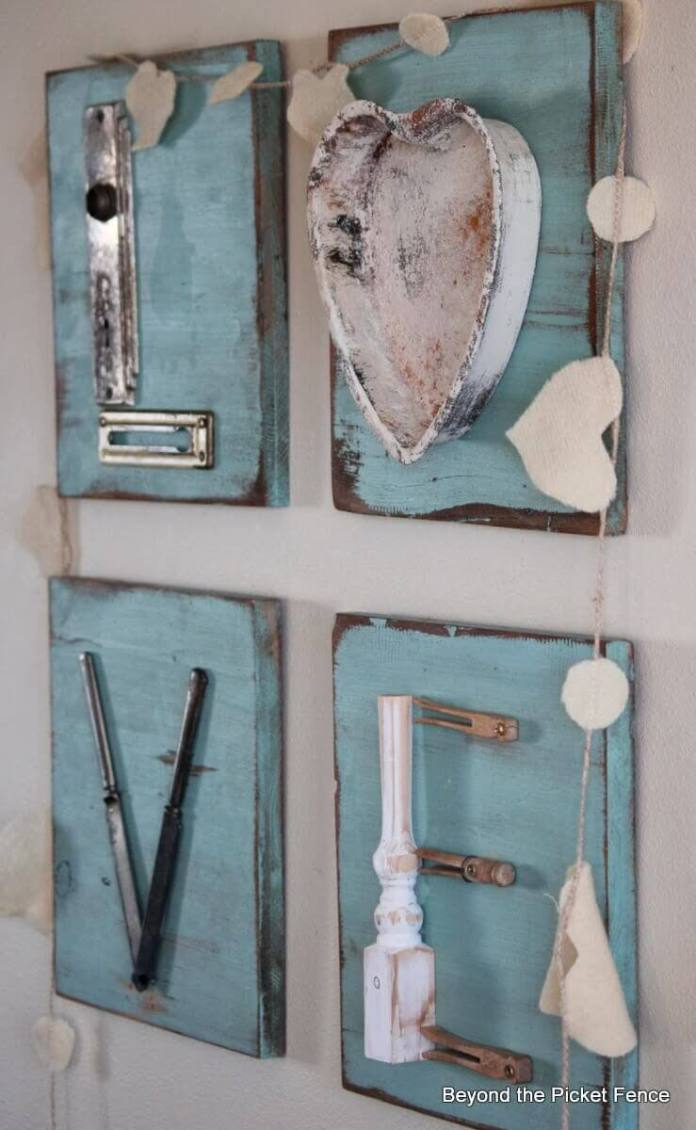 Mix and Match Kitchen Utensil Love Sign