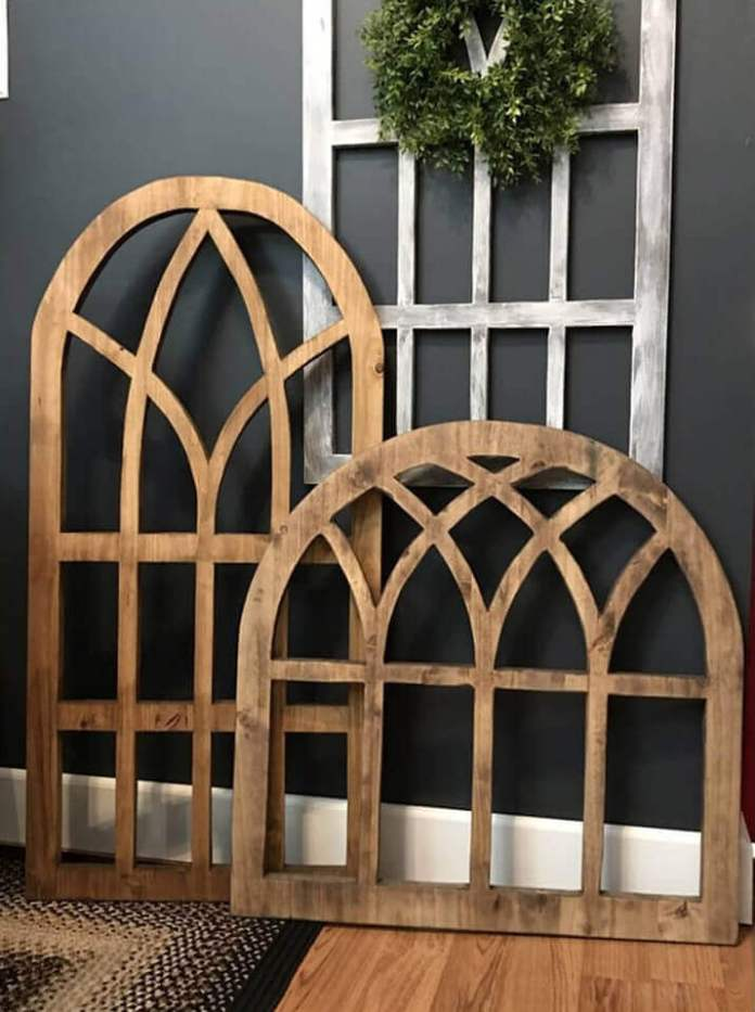 Gothic Window Inspired Architectural Silhouettes