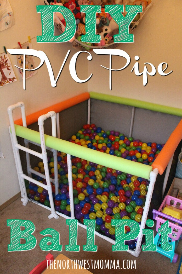 DIY Personal Ball Pit from PVC