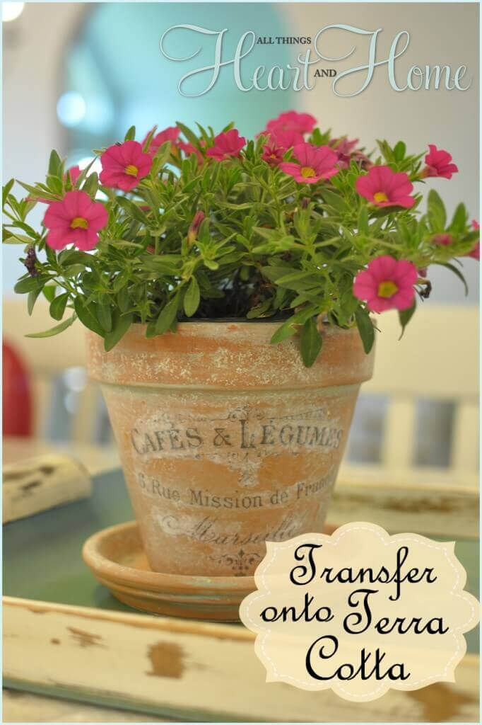How to Put Antique Transfers on Pottery