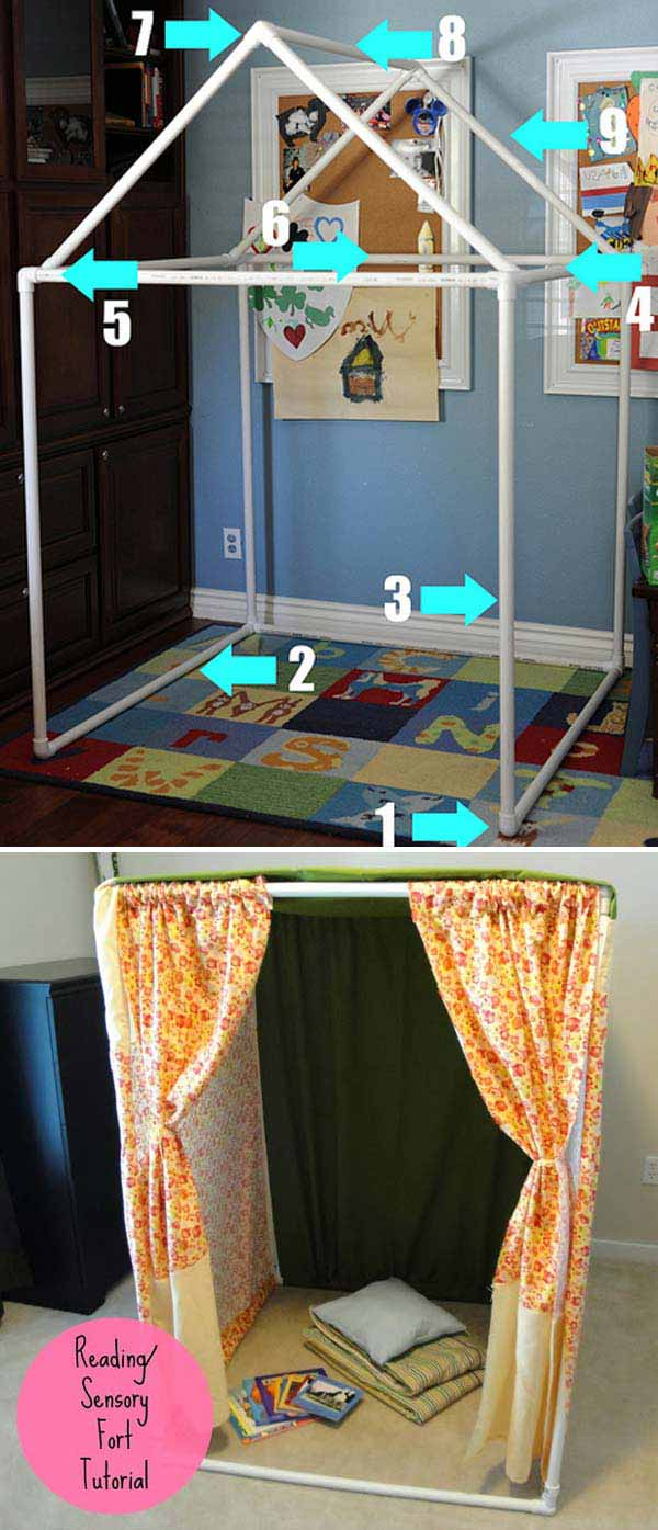 It would be perfect reading nook or play house for kids