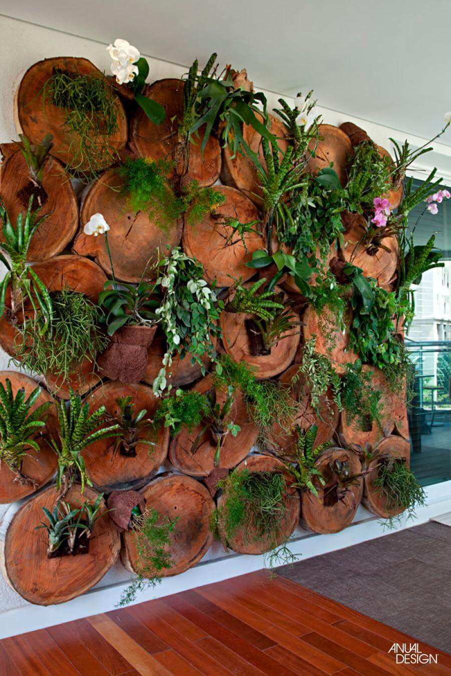 Paint a Wall with Plants