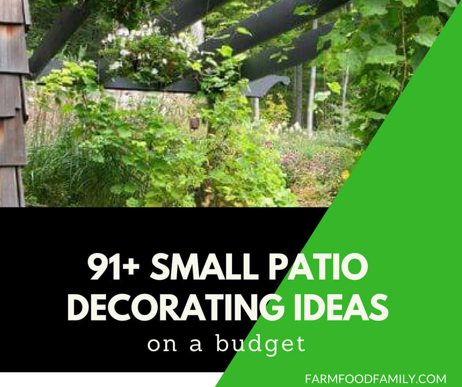 91 small patio decorating