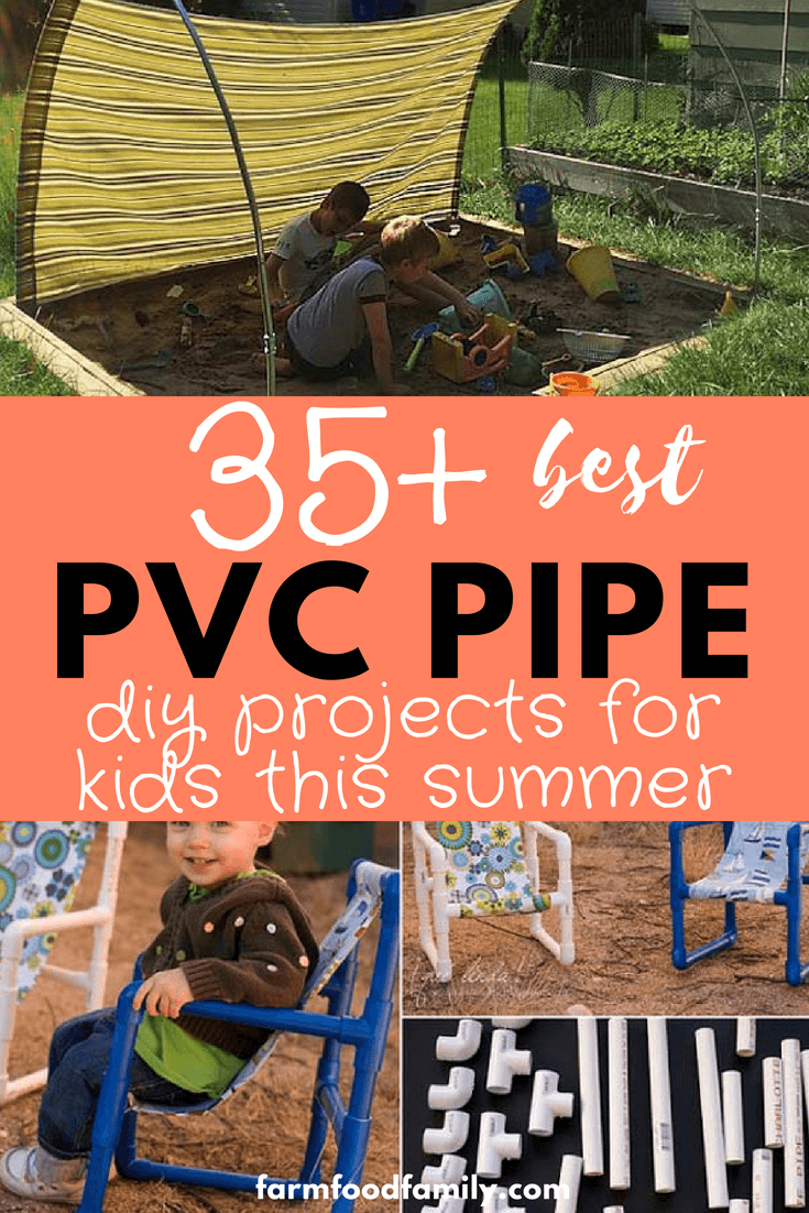 Looking for a DIY pipe idea for your kids? Here are 35+ of awesome DIY Pipe projects for them bored on Summer Vacation