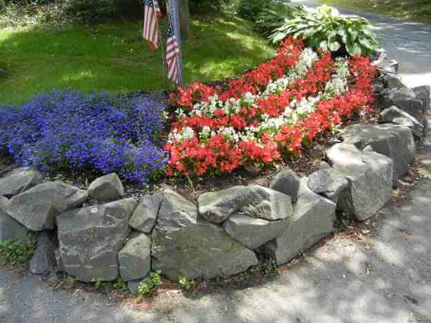 Stars And Stripes Garden Bed