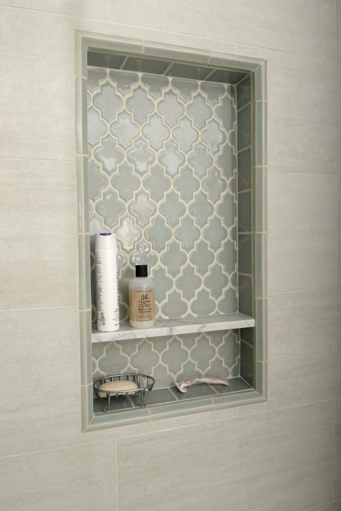 Persian Style Tumurid Shower Shelf