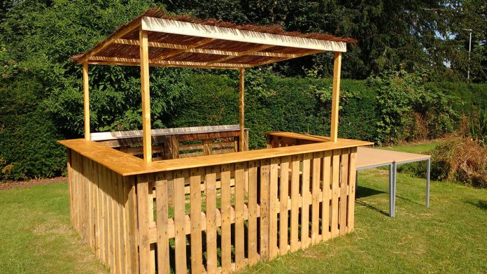 A Shaded Enclosure: Perfect for a Picnic Table