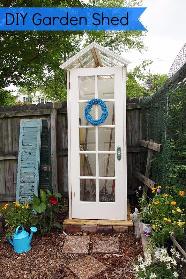 Cute Little DIY Garden Shed