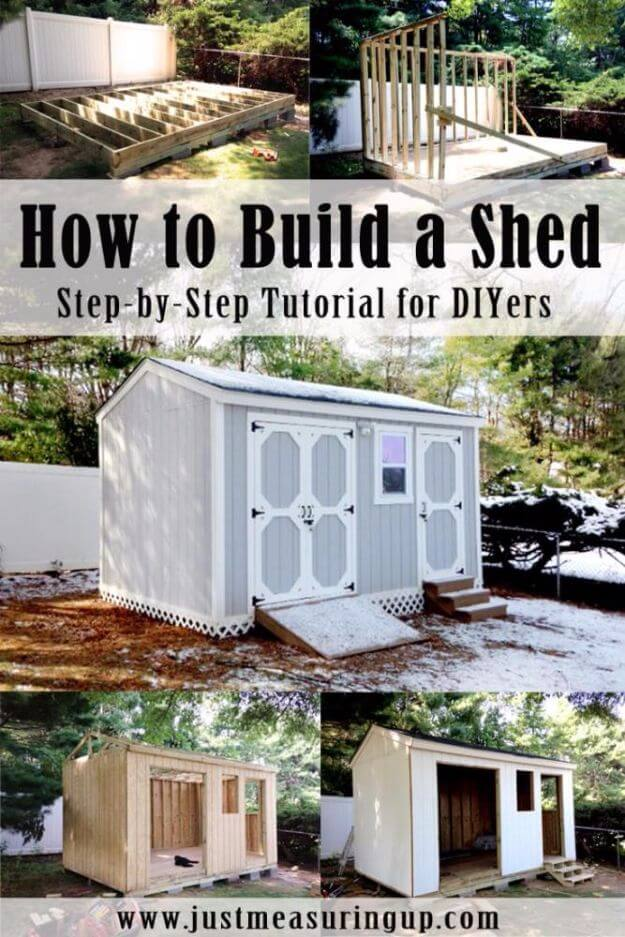 Build A Storage Shed
