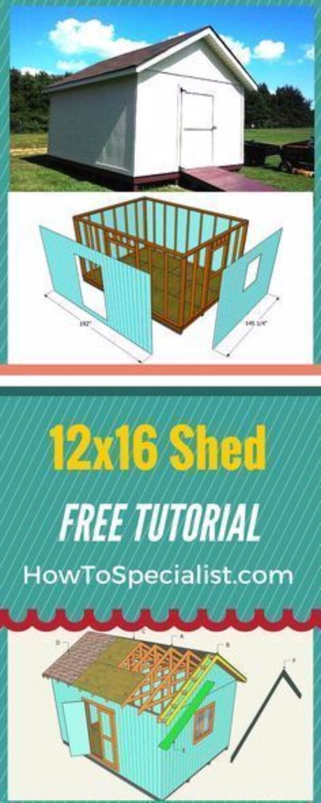 Build A 12×16 Shed