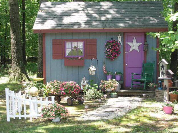 Fairy Tale Style Shed