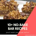 10+ Healthy No-Bake Bars