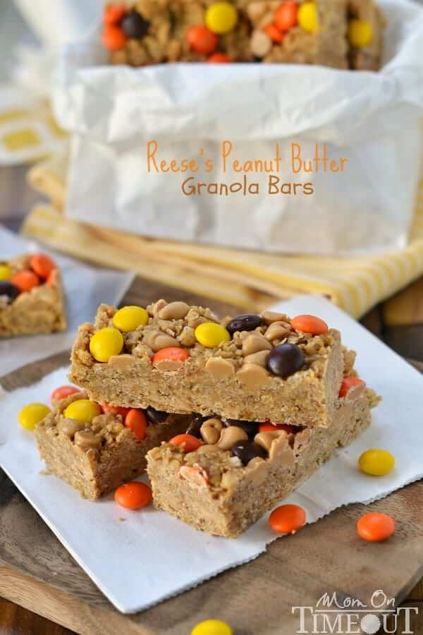 Reese's Peanut Butter Granola Bars