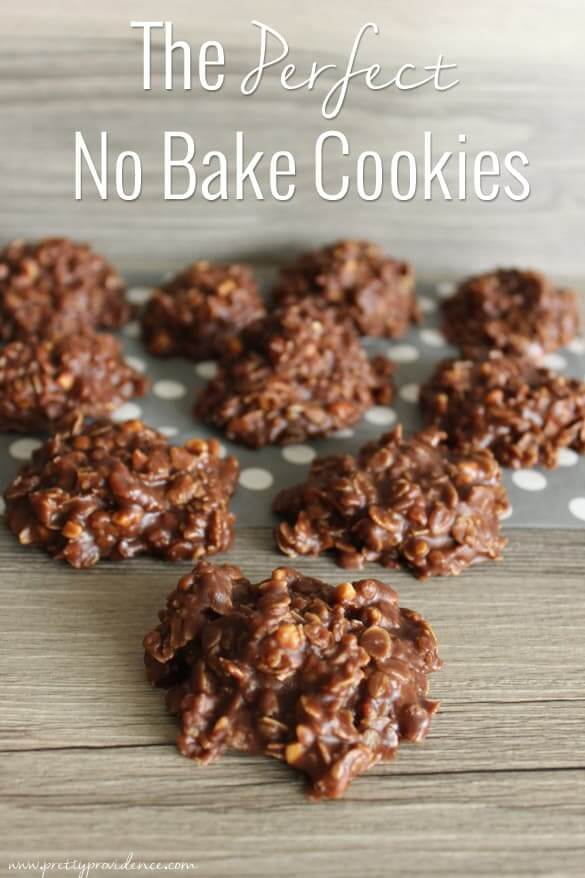 The Perfect No-Bake Cookies