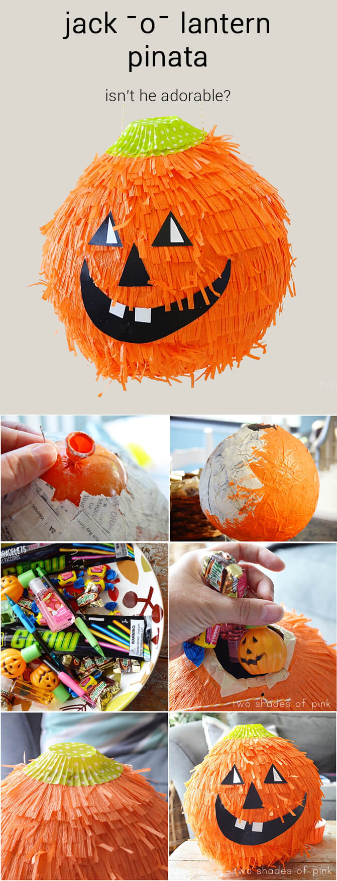 The Cutest Pinata | Awesome DIY Halloween Party Decor | BHG Halloween