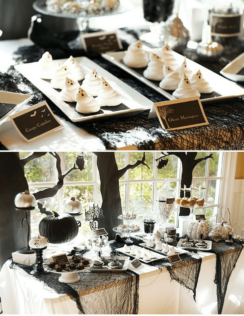 A Formal Dinner Fit for Dracula | Awesome DIY Halloween Party Decor | BHG Halloween