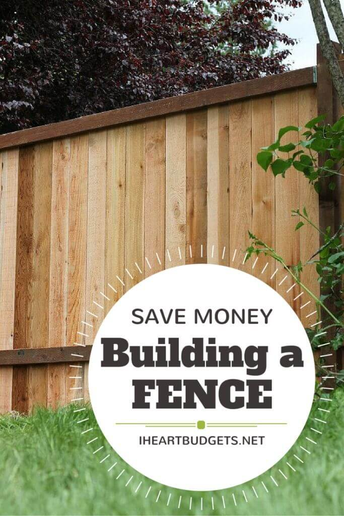 DIY Fence Ideas: Solid Vertical Wooden Plank Fence