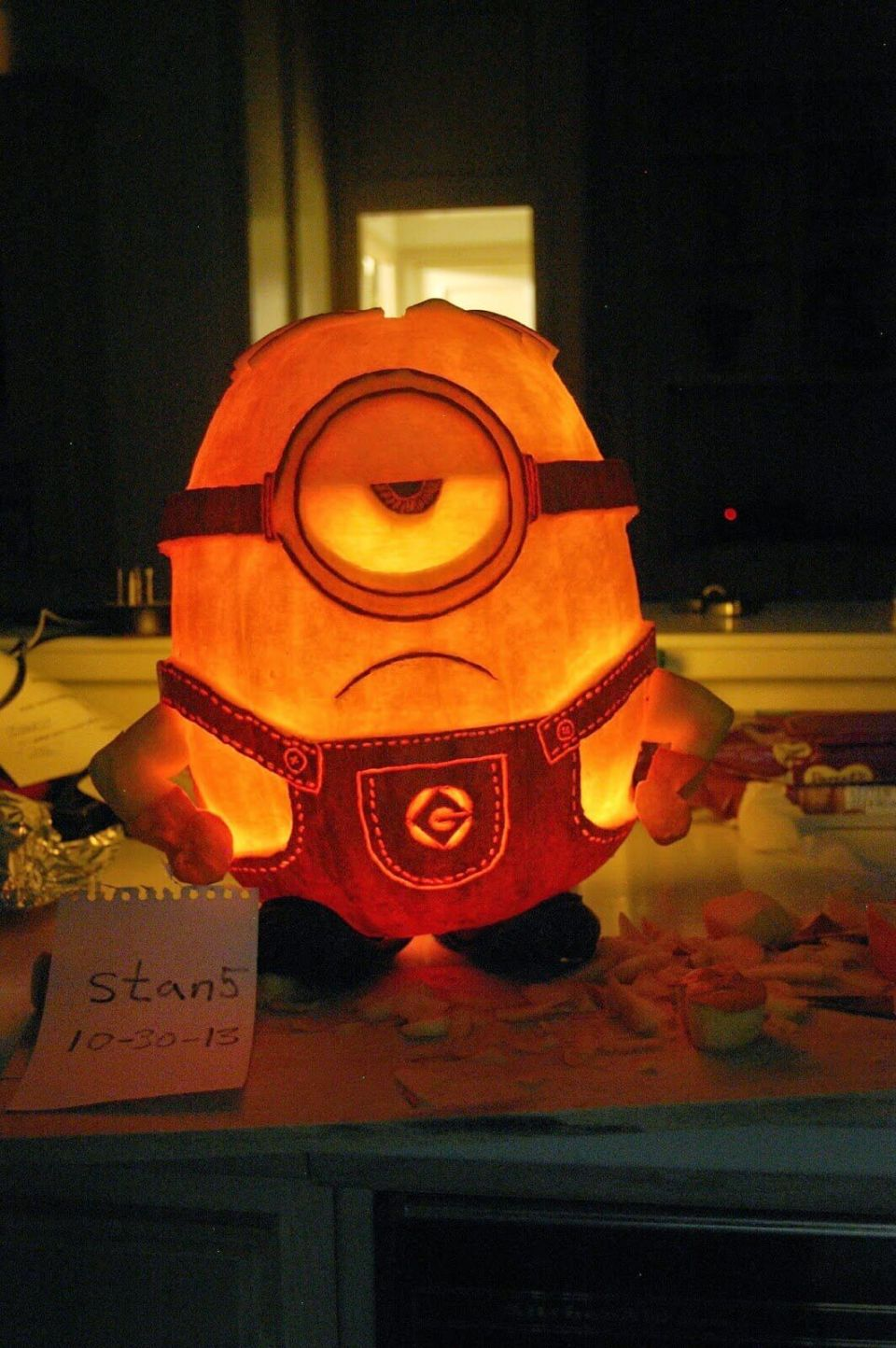 DIY Pumpkin Carving Ideas: Minions