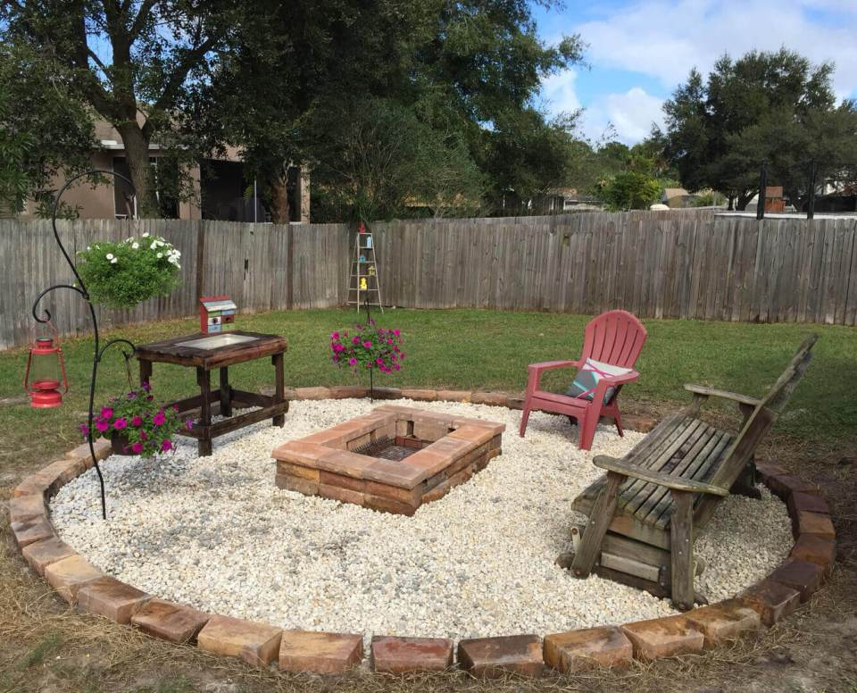 31+ Cheap DIY Firepit Area Ideas For Outdoor (Stone, Metal ...