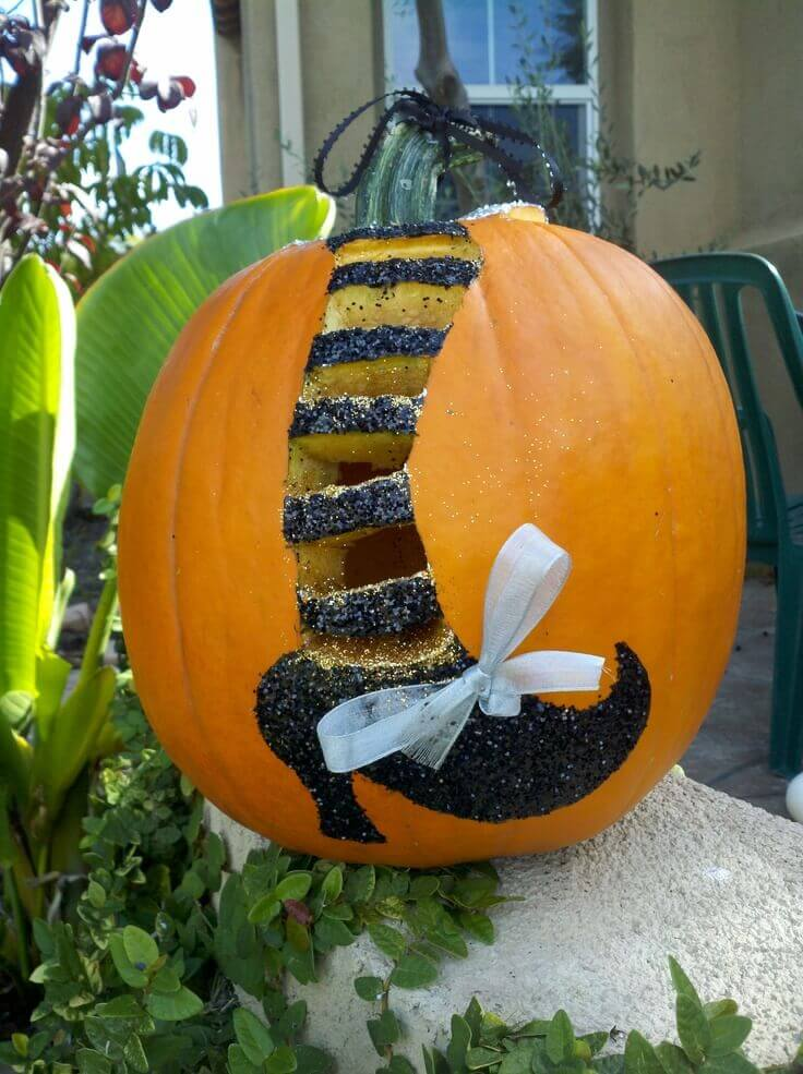 DIY Pumpkin Carving Ideas: Ding! Dong! The Witch is Dead