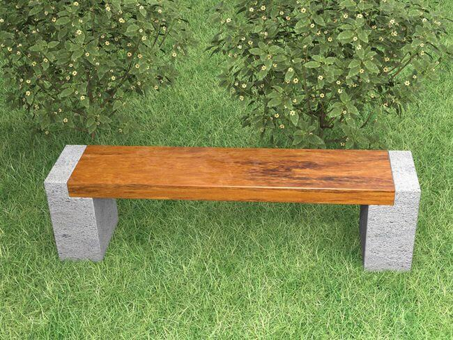 Outdoor DIY Bench Ideas: Nature Loving Forest Meadow Bench