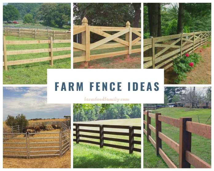 Farm fence ideas