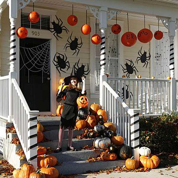 Halloween Door Decoration Ideas: Halloween Witch's Cave