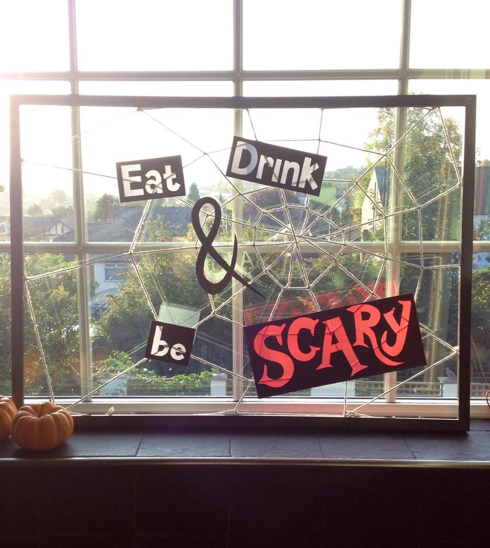 The Stylish Window | Awesome DIY Halloween Party Decor | BHG Halloween