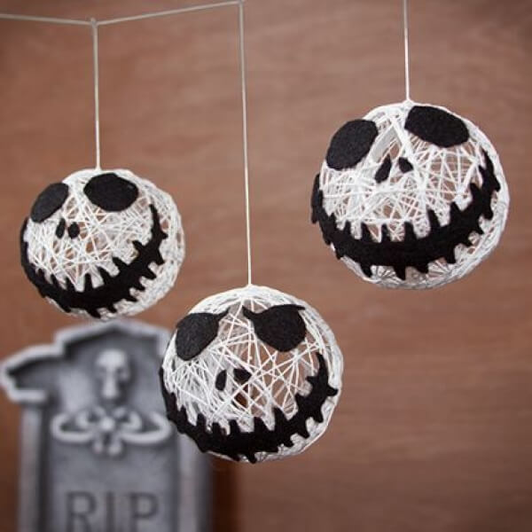 Creepy Skulls | Awesome DIY Halloween Party Decor | BHG Halloween
